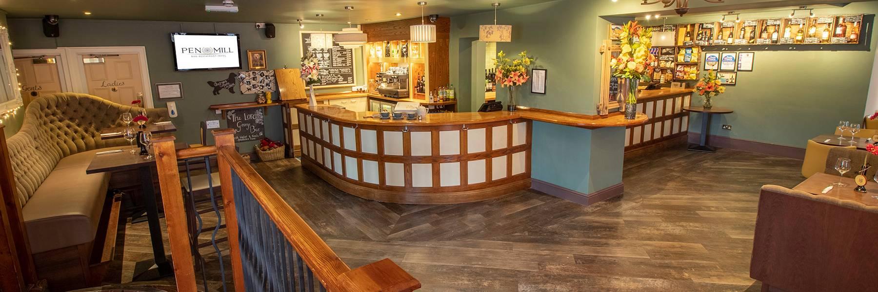 Pen mill pub bar room 4